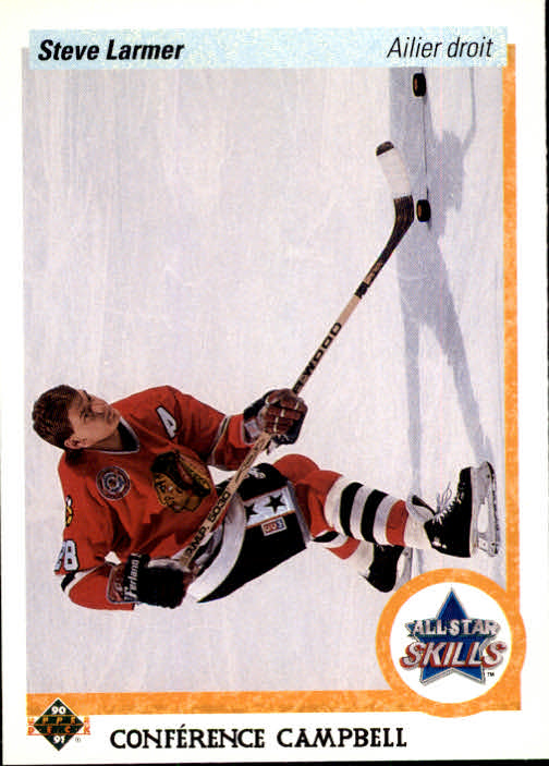 1990-91 Upper Deck French #499 Steve Larmer AS
