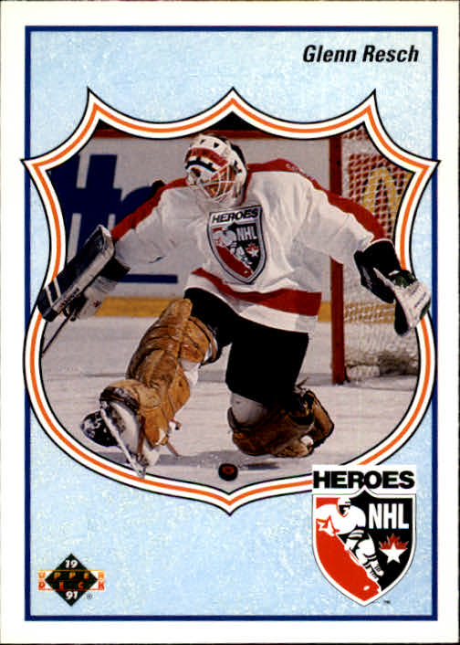 1990-91 Upper Deck French #507 Glenn Resch HERO