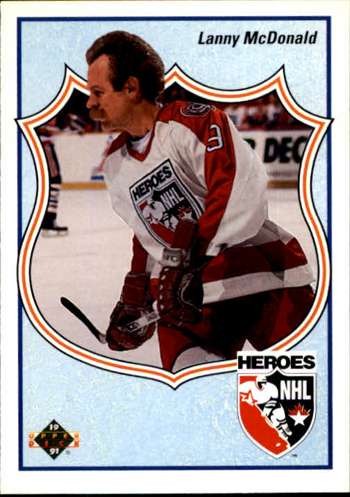1990-91 Upper Deck French #508 Lanny McDonald HERO