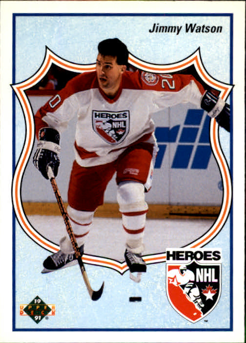 1990-91 Upper Deck French #514 Jimmy Watson HERO