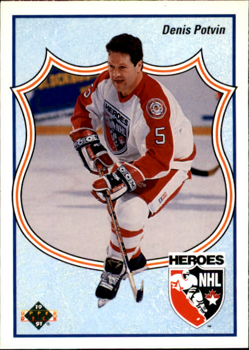 1990-91 Upper Deck French #515 Denis Potvin HERO