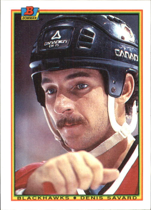 1990-91 Bowman #6 Denis Savard