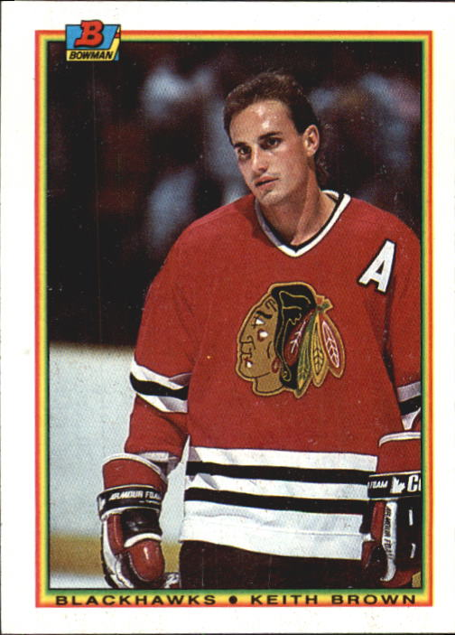 1990-91 Bowman #10 Keith Brown