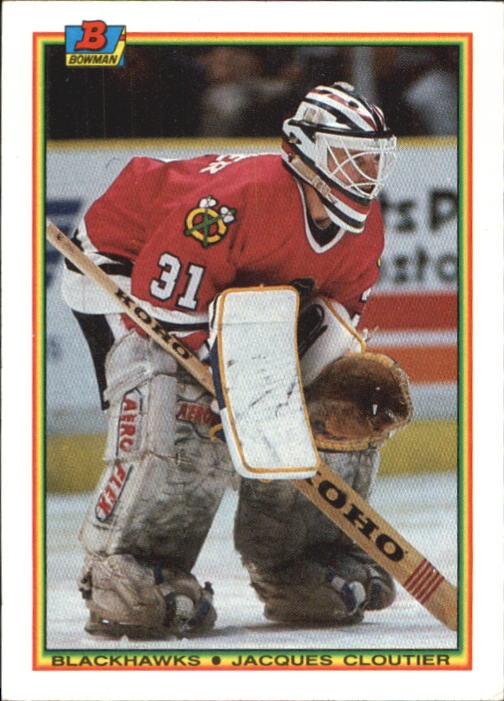 1990-91 Bowman #11 Jacques Cloutier RC