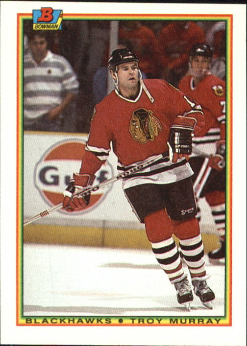 1990-91 Bowman #13 Troy Murray