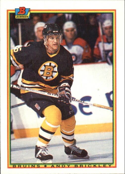 1990-91 Bowman #27 Andy Brickley