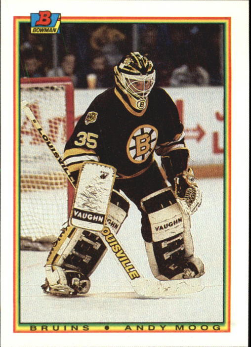 1990-91 Bowman #35 Andy Moog