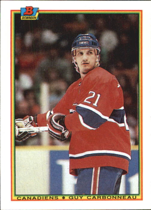 1990-91 Bowman #44 Guy Carbonneau