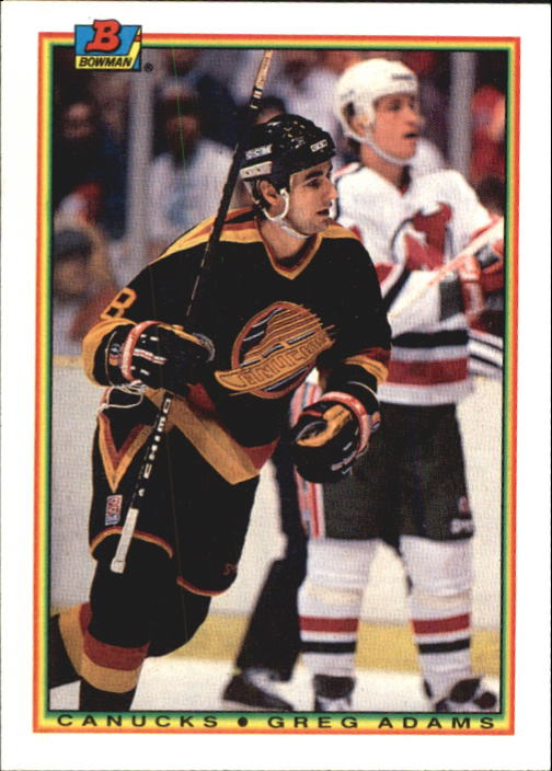 1990-91 Bowman #59 Greg Adams