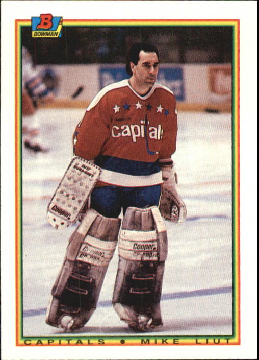 1990-91 Bowman #66 Mike Liut