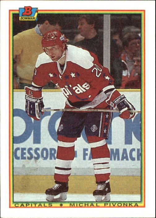 1990-91 Bowman #68 Michal Pivonka RC