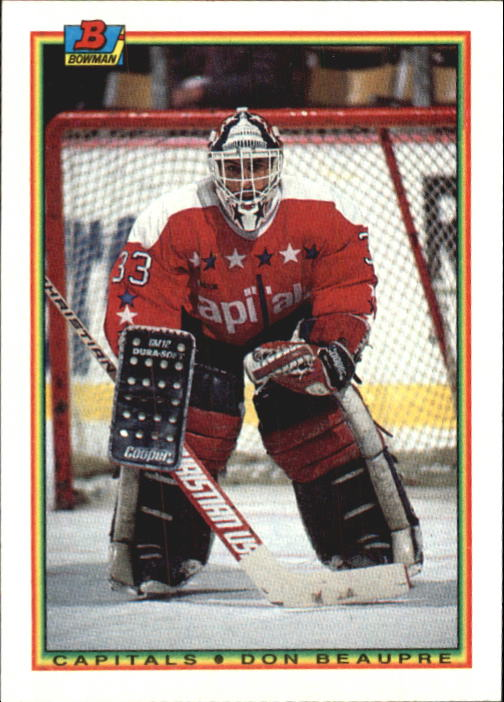1990-91 Bowman #72 Don Beaupre