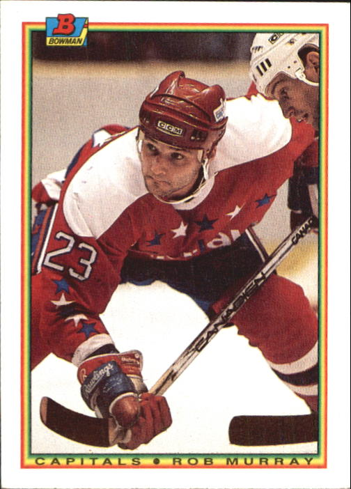 1990-91 Bowman #74 Rob Murray RC