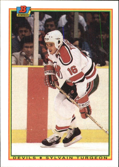 1990-91 Bowman #81 Sylvain Turgeon