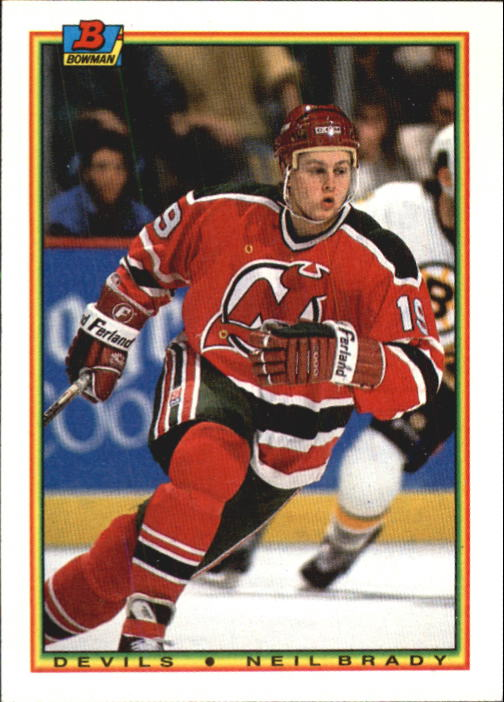 1990-91 Bowman #88 Neil Brady RC
