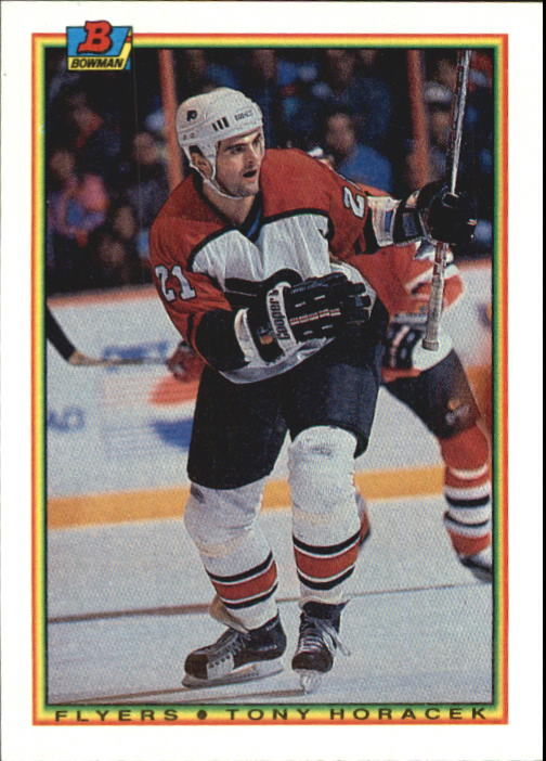 1990-91 Bowman #104 Tony Horacek RC