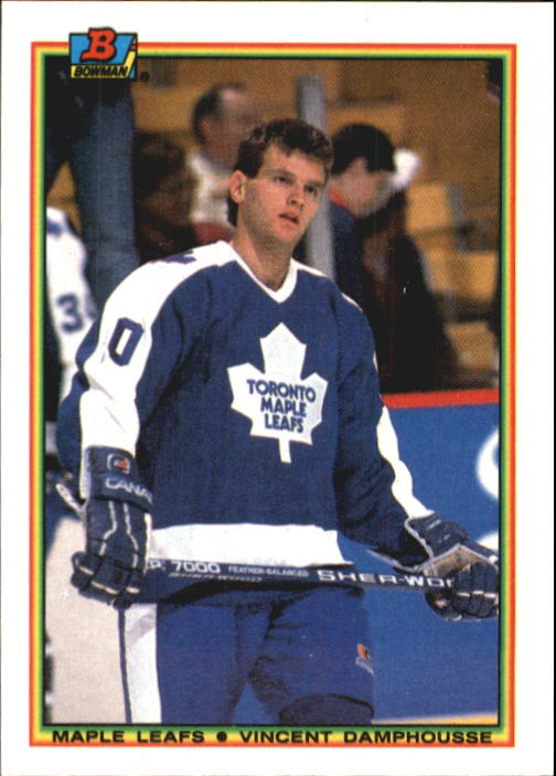 1990-91 Bowman #163 Vincent Damphousse