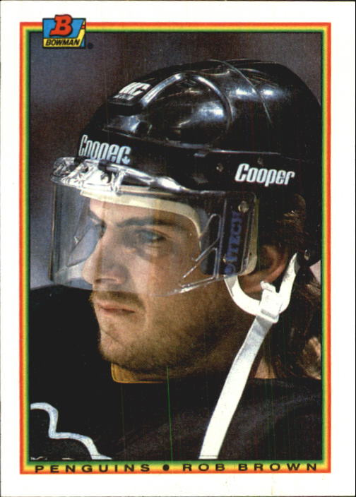 1990-91 Bowman #202 Rob Brown