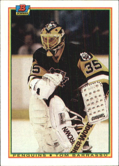 1990-91 Bowman #209 Tom Barrasso