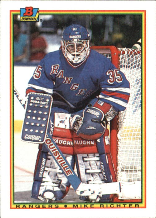 1990-91 Bowman #218 Mike Richter RC