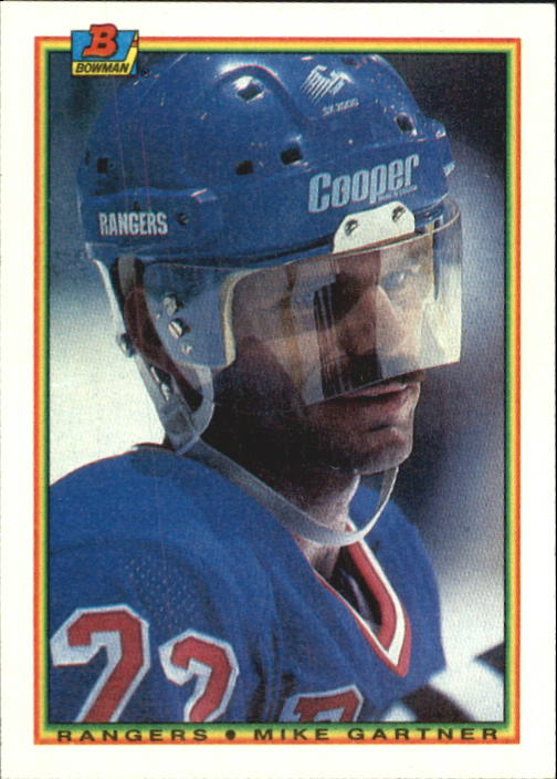 1990-91 Bowman #220 Mike Gartner