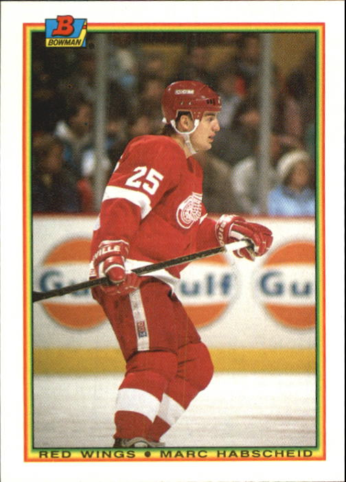 1990-91 Bowman #228 Marc Habscheid