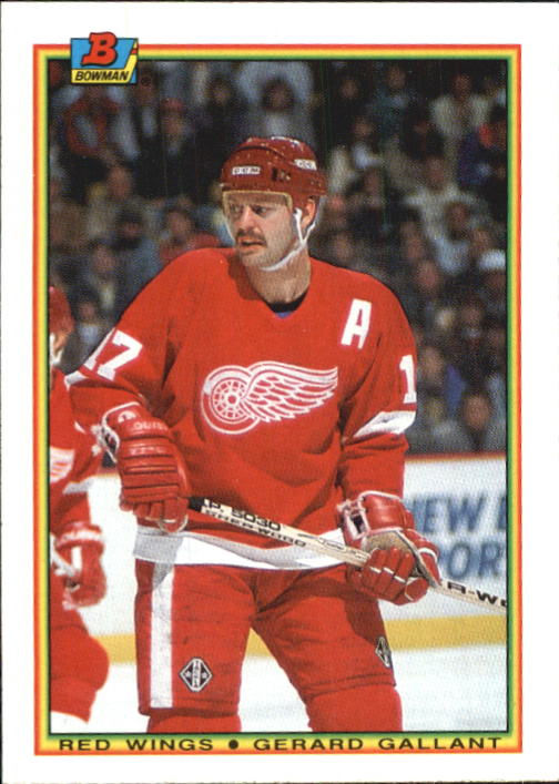 1990-91 Bowman #237 Gerard Gallant