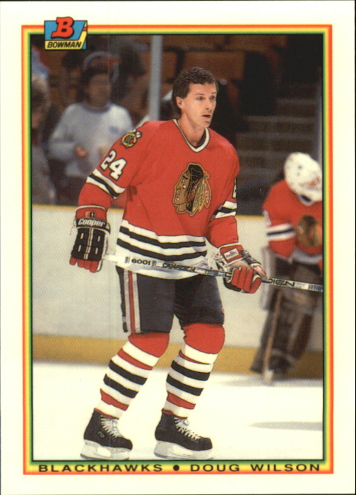 1990-91 Bowman Tiffany #2 Doug Wilson