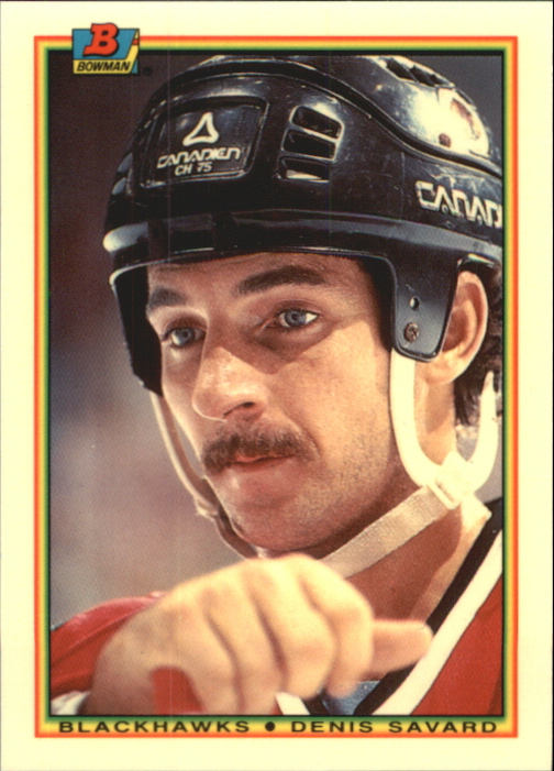 1990-91 Bowman Tiffany #6 Denis Savard