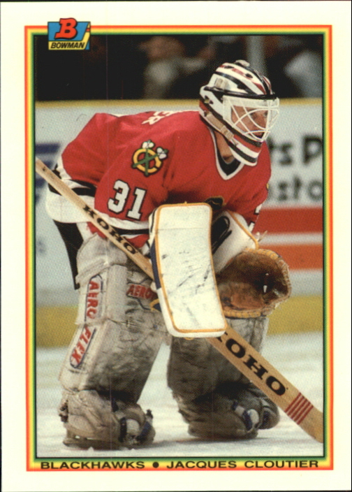 1990-91 Bowman Tiffany #11 Jacques Cloutier