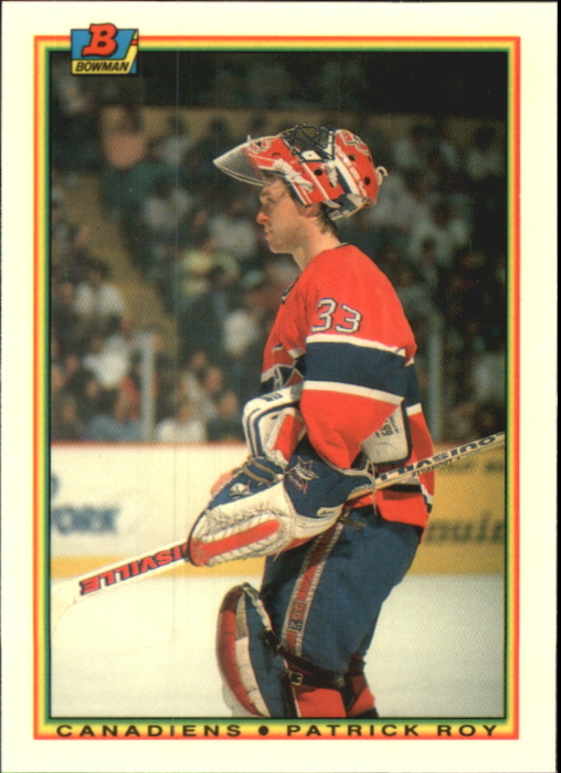 1990-91 Bowman Tiffany #50 Patrick Roy
