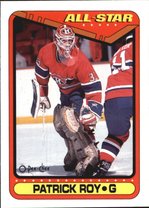 1990-91 O-Pee-Chee #198 Patrick Roy AS1