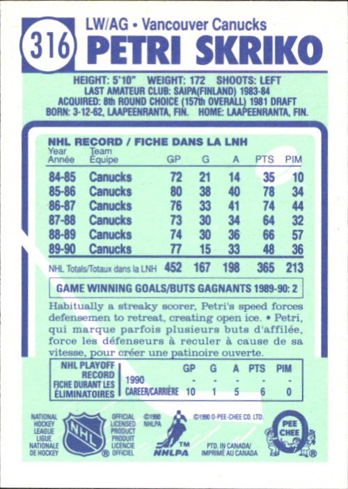 1990-91-O-Pee-Chee-Hockey-Cards-Pick-From-List thumbnail 175