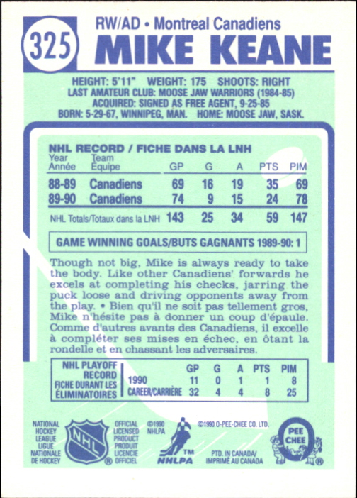 1990-91-O-Pee-Chee-Hockey-Cards-Pick-From-List thumbnail 189