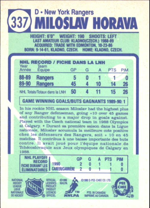 1990-91-O-Pee-Chee-Hockey-Cards-Pick-From-List thumbnail 197