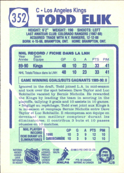 1990-91-O-Pee-Chee-Hockey-Cards-Pick-From-List thumbnail 207