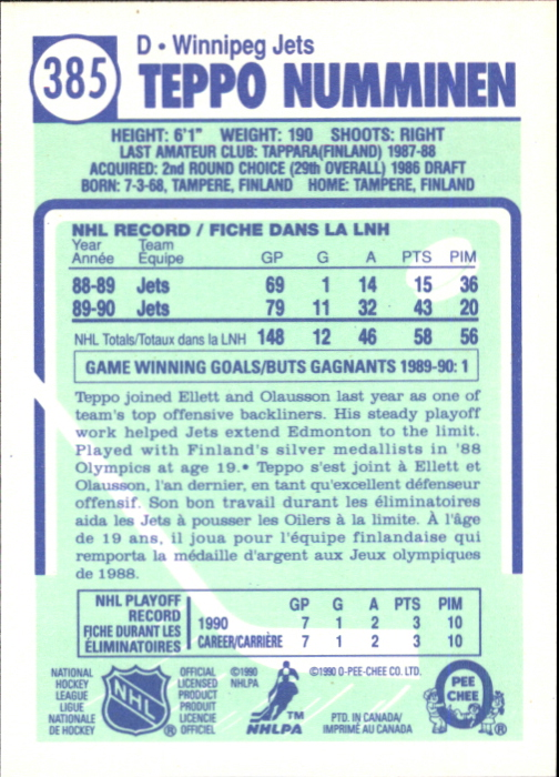 1990-91-O-Pee-Chee-Hockey-Cards-Pick-From-List thumbnail 231