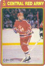 1990-91 O-Pee-Chee Red Army #1R Ilya Byalsin