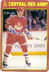 1990-91 O-Pee-Chee Red Army #2R Vladimir Malakhov