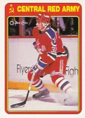 1990-91 O-Pee-Chee Red Army #5R Dimitri Motkov