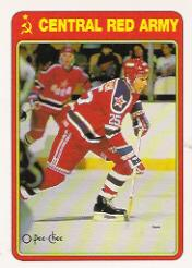 1990-91 O-Pee-Chee Red Army #16R Dimitri Khristich