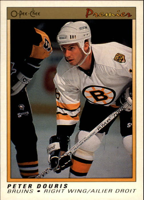 1990-91 OPC Premier #26 Peter Douris RC