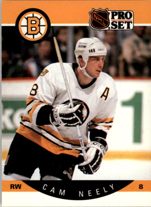 1990-91 Pro Set #11 Cam Neely UER/(Bruins not cap-/italized in text)
