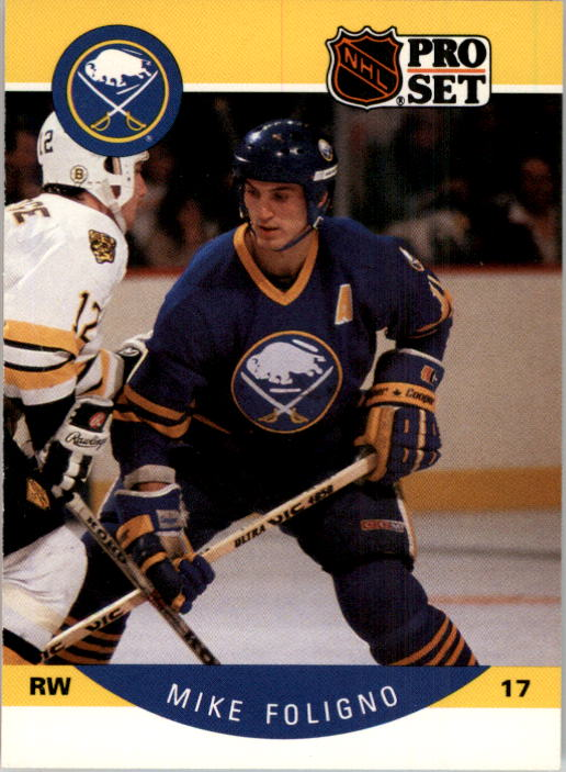 1990-91 Pro Set #20 Mike Foligno