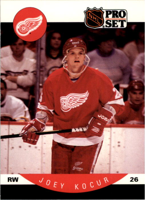 1990-91 Pro Set #73 Joey Kocur RC