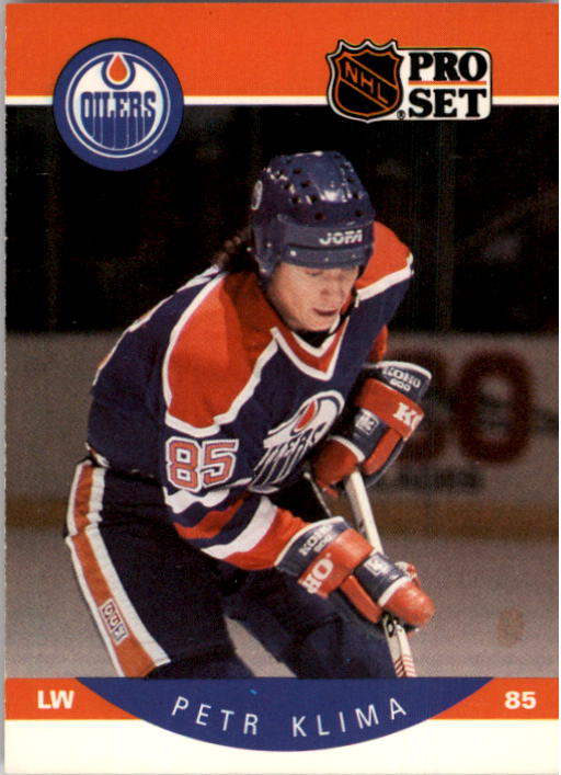 1990-91 Pro Set #86 Petr Klima UER/(Born Chomulov& should/be Chaomutov)