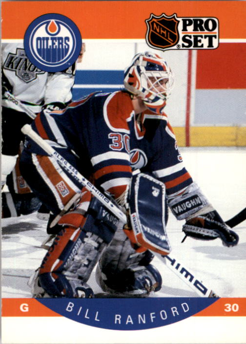 1990-91 Pro Set #94 Bill Ranford