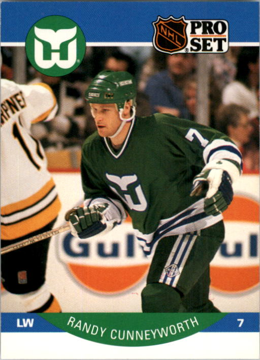 1990-91 Pro Set #101 Randy Cunneyworth