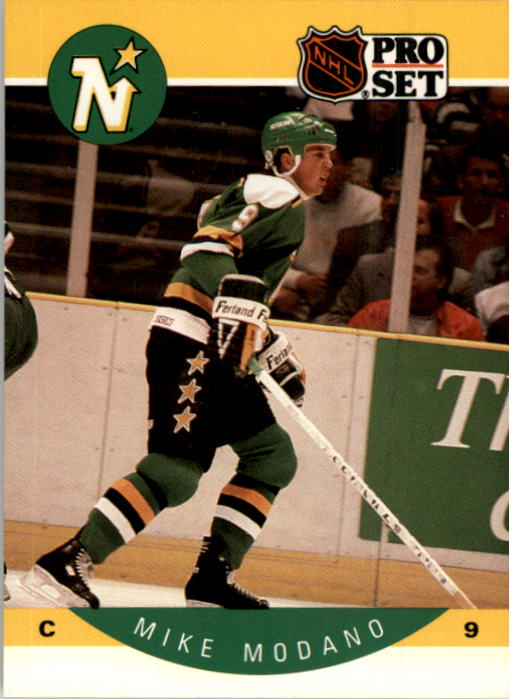 1990-91 Pro Set #142 Mike Modano RC
