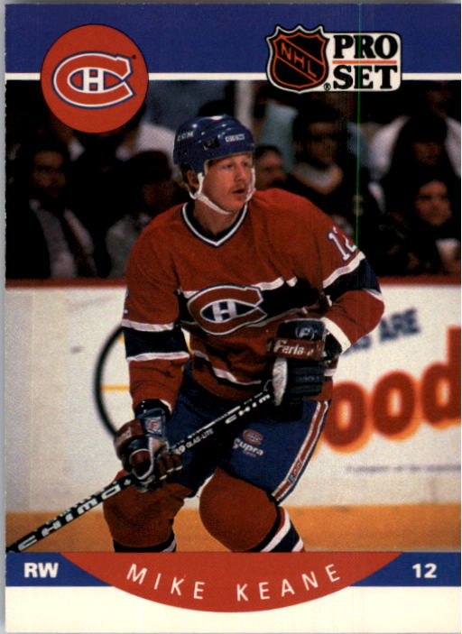 1990-91 Pro Set #151 Mike Keane RC